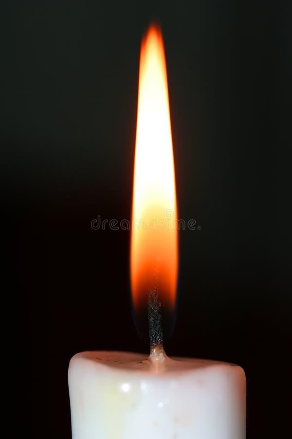 płomień świecy zdjęcie royalty free
