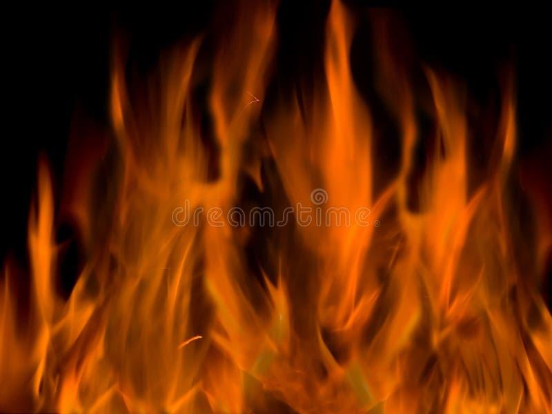płomienie tło obrazy stock
