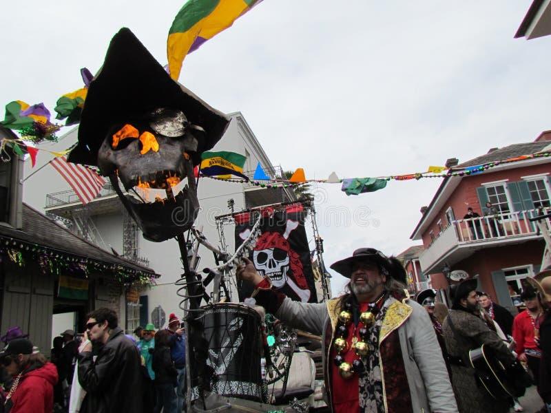 Płomienny pirat czaszki statek obrazy royalty free