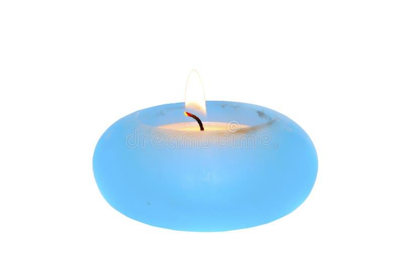 płonąca świeczka obrazy stock