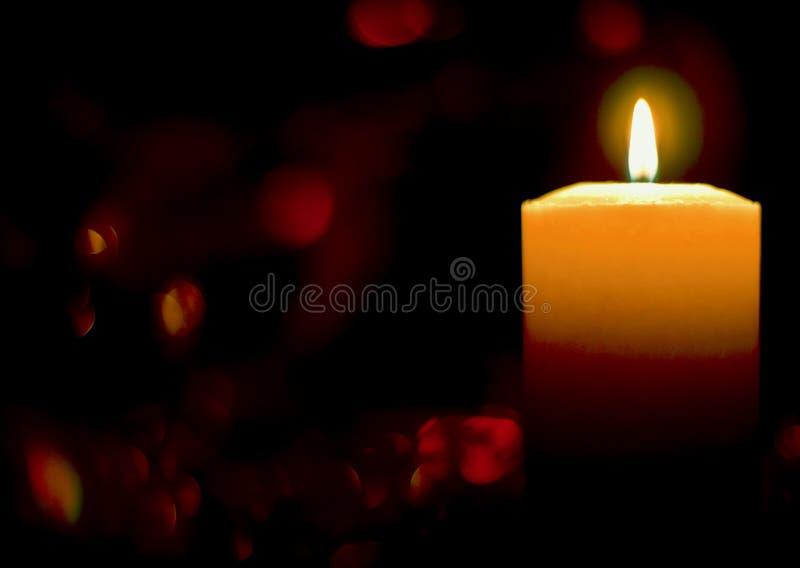 Płonąca świeczka zdjęcia royalty free