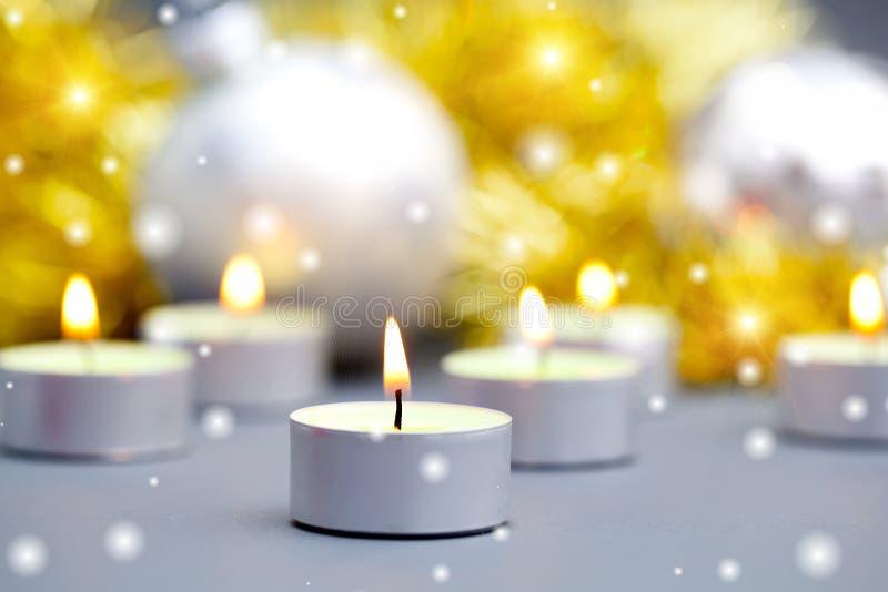 Płonąca świeczka zdjęcie royalty free