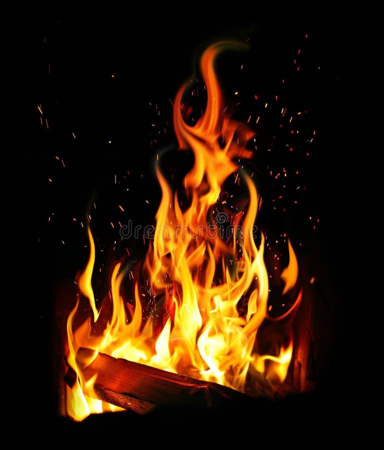 Download Płonąca bela i ogień zdjęcie stock. Obraz złożonej z target165 - 28954032