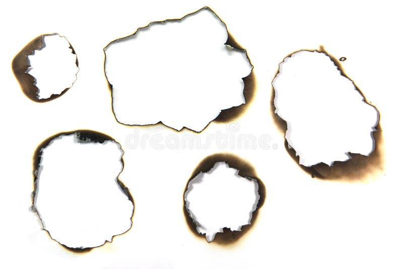 płonący papier zdjęcia stock