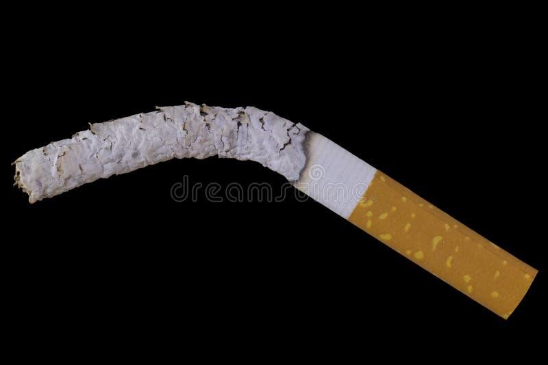 płonący papierosa fotografia royalty free