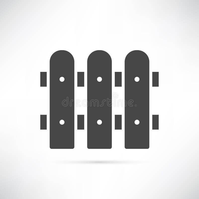 Płotowa ikona fotografia stock
