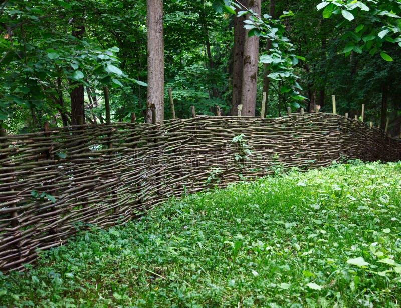 płotowy ogród zdjęcie stock