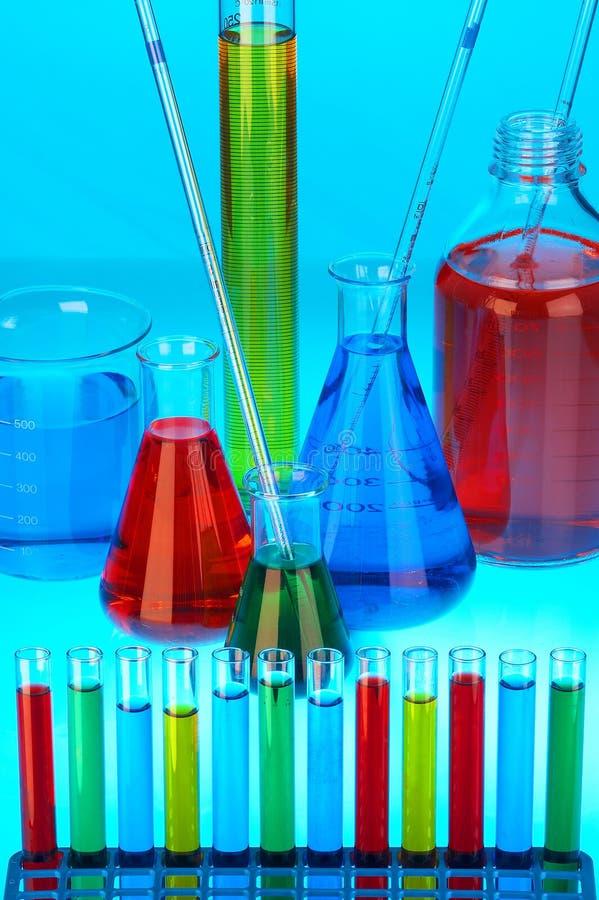 płyny chemiczne. obraz stock