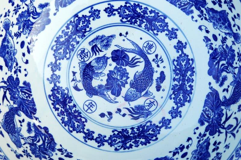 Płytka orientalny talerz zdjęcie stock