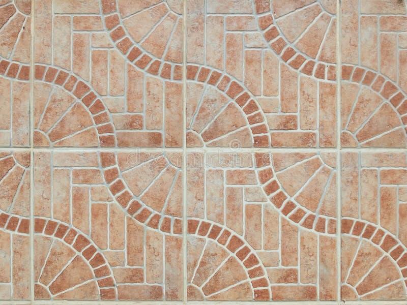 Płytki podłogowe o wzorze geometrycznym Koncepcja abstrakcyjnego tła wzorka bez szwu zdjęcie royalty free
