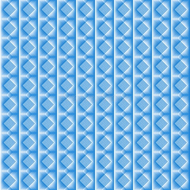 Płytki robić błękitny rhombus ilustracji