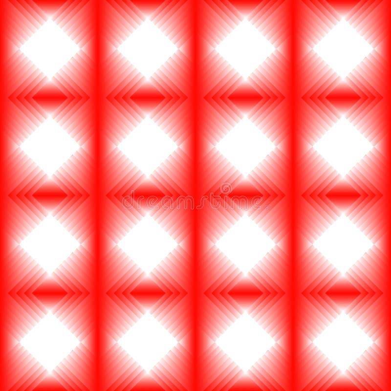 Płytki robić czerwony diament royalty ilustracja