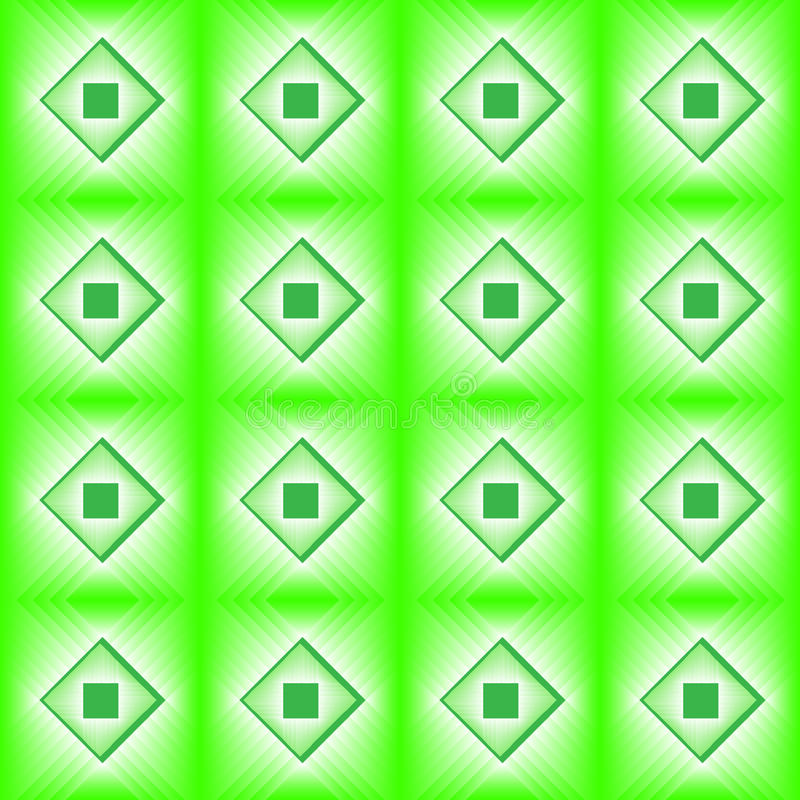 Płytki robić zielony diament ilustracji