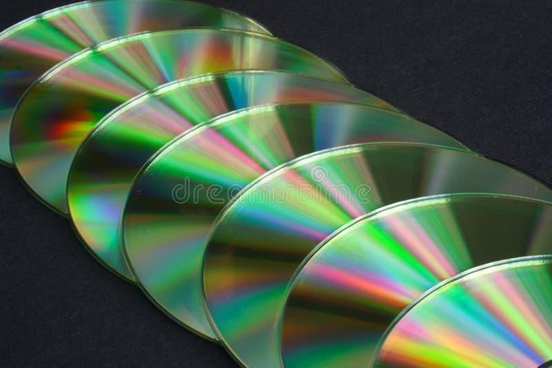 płyty cd - rom - y zdjęcie stock
