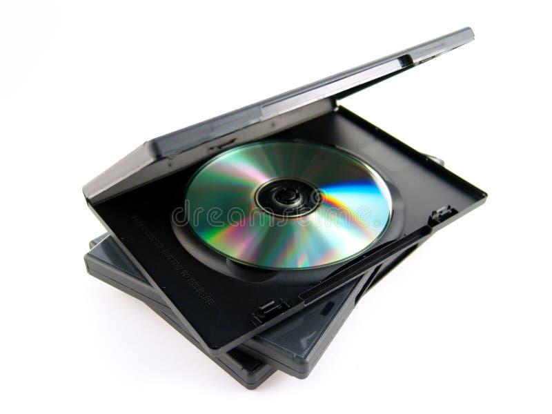 płyty dvd sprawa fotografia royalty free
