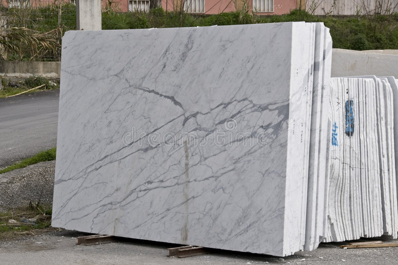 płyty marmurowe białe obraz stock