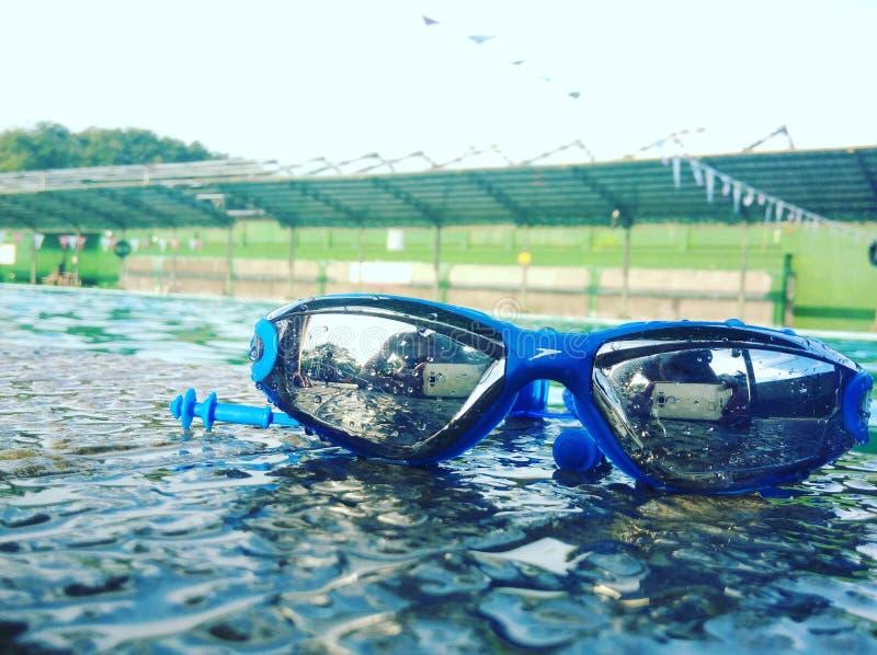 Pływać Goggless obrazy stock