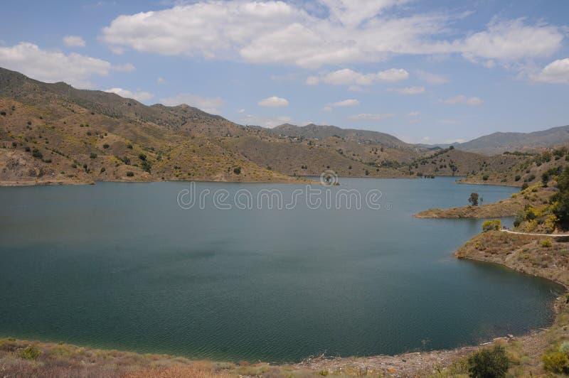 Pływał dziura Blisko Málaga, Andalusia, Hiszpania, Europa zdjęcie stock