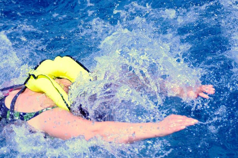 pływacka kobieta zdjęcia royalty free