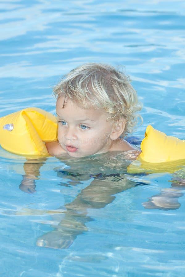 pływacki basenu berbeć obraz stock