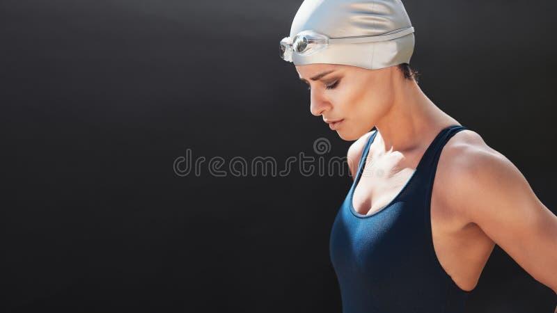 Pływaczki narządzanie dla pływania obraz royalty free