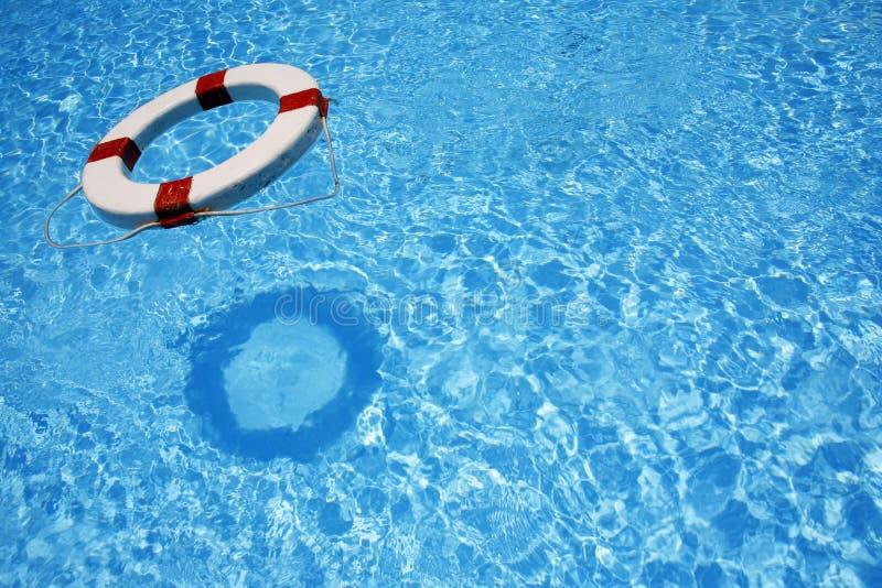 pływający lifebealt fotografia stock