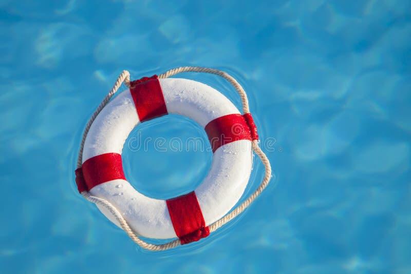 pływający ratownik fotografia stock