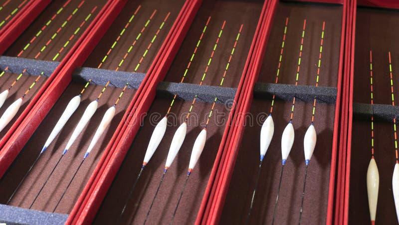 Pływakowy bobber dla połowu popasu zdjęcie royalty free