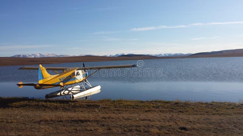 Pływakowy samolot zdjęcia stock