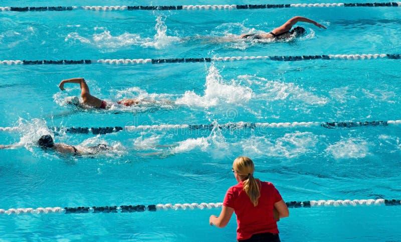 pływanie konkurencyjny obraz royalty free