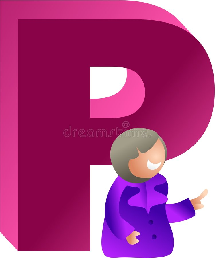 Download P is for stock illustration. Illustration of classes, letters - 508457