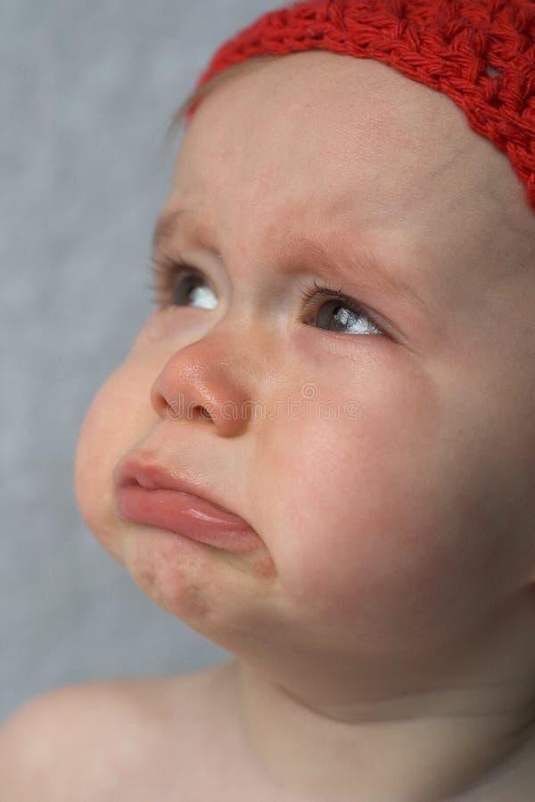 Download Płacz dziecka obraz stock. Obraz złożonej z różowy, naturalny - 1799167