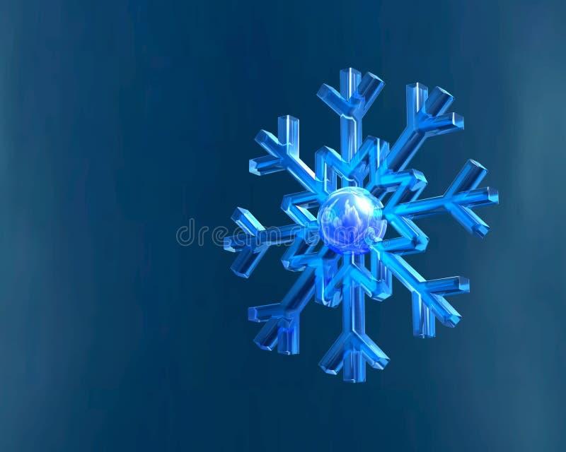 Download Płatek ilustracji. Obraz złożonej z christmas, symetria - 9699384