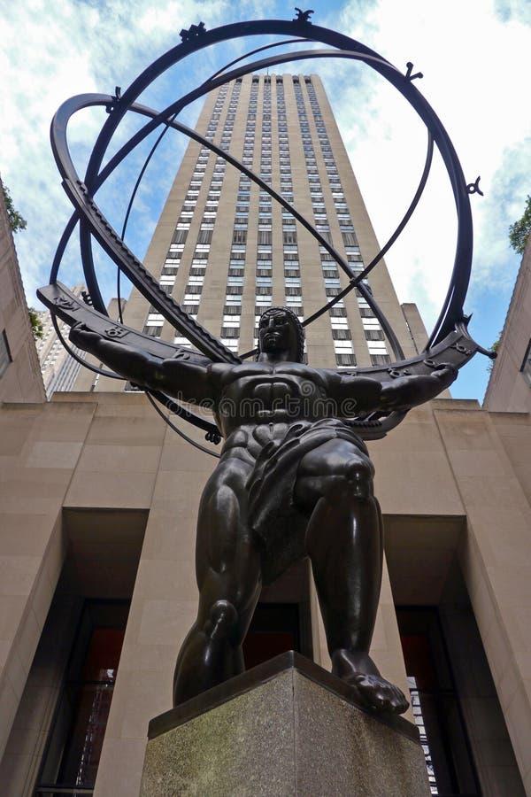 Rockefeller Center, New York City, NY, USA stock photos
