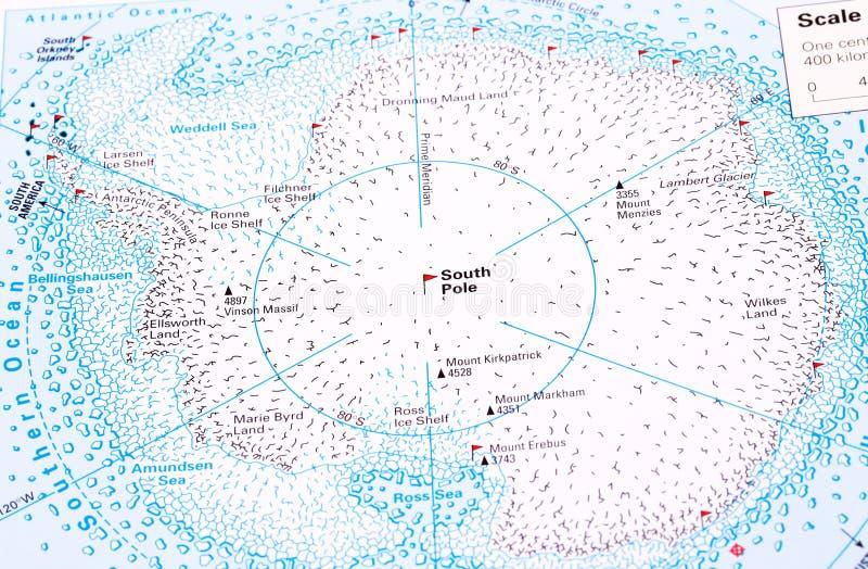 Pôle du sud photo libre de droits