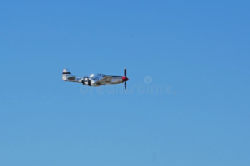 P38 Mustang fighter plane royalty free stock image