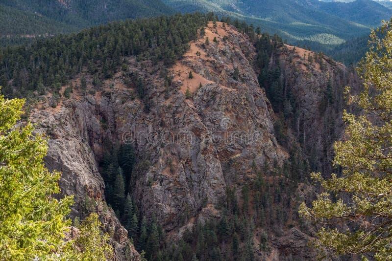 P??nocne Cheyenne jaru kanonu Colorado wiosny zdjęcie stock