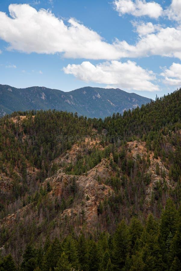 P??nocne Cheyenne jaru kanonu Colorado wiosny obraz royalty free