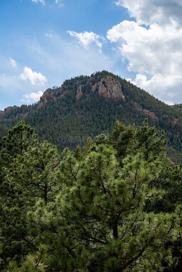 P??nocne Cheyenne jaru kanonu Colorado wiosny zdjęcie royalty free