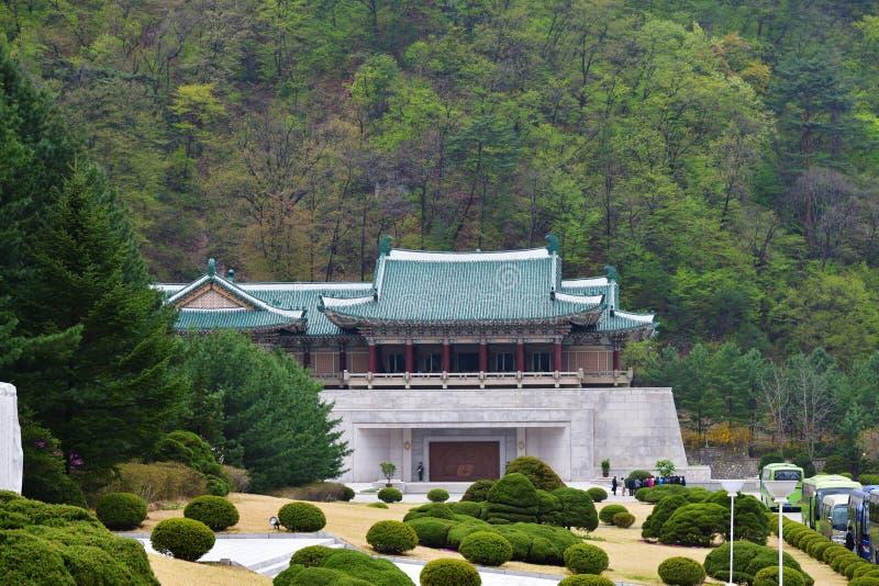 P??nocny Korea Myohyangsan Budynek prezenta muzeum obraz stock