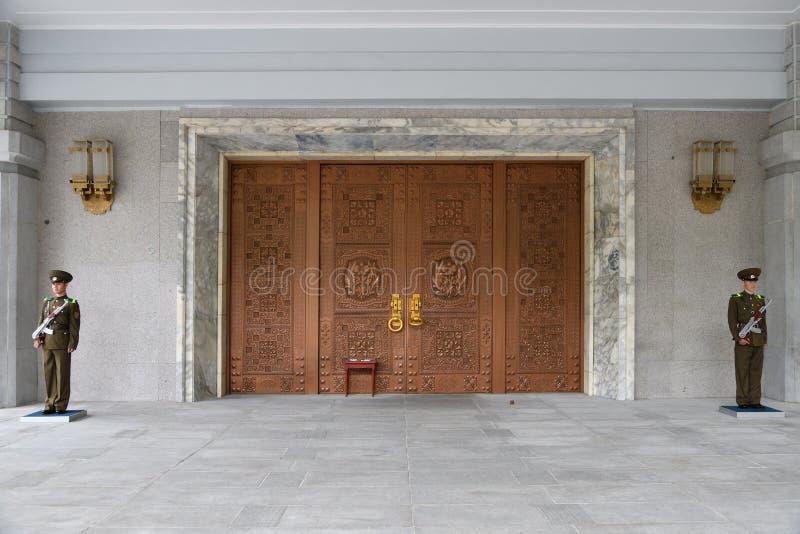 P??nocny Korea Myohyangsan Prezenta muzeum obraz royalty free