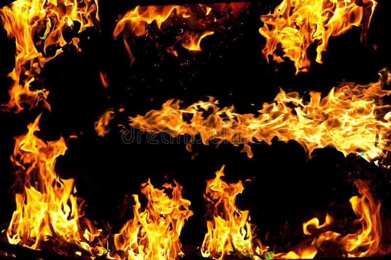 Download Płomienie obraz stock. Obraz złożonej z bushfire, target20 - 25639039