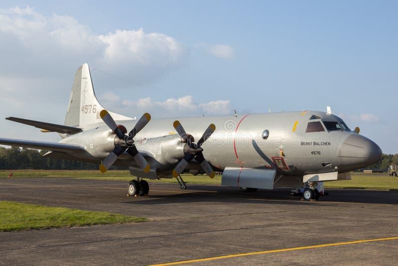 P-3 Orion Norway Navy stock afbeeldingen
