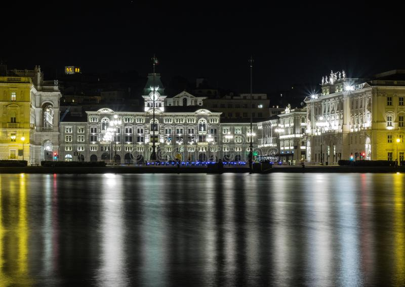 A View of Unity Square from Audace Pier stock photos
