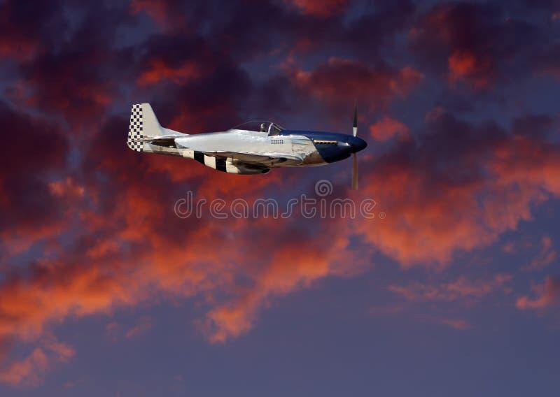 P51 Mustang stock photo