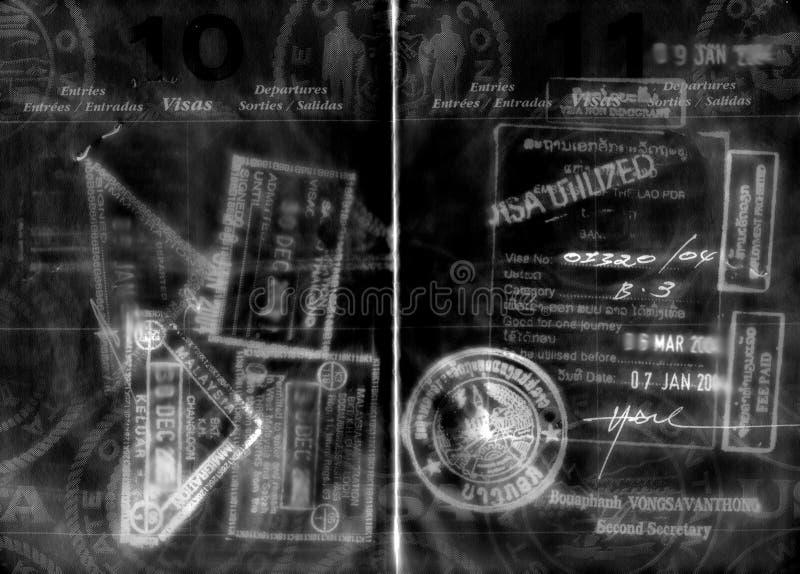 Paß lizenzfreie stockfotos
