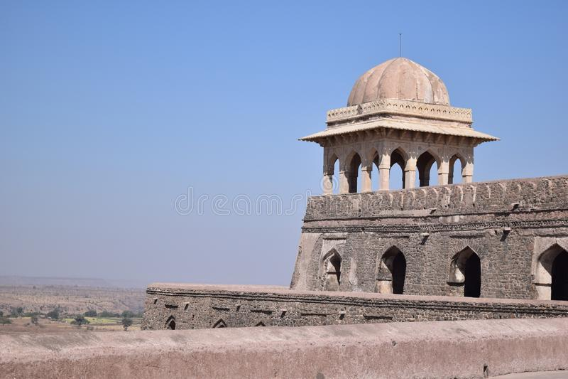Pałac Princess Roopmati w Mandu fotografia royalty free