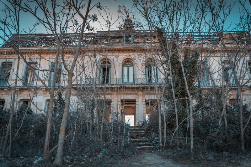 Pałac Versallesco porzucał obraz royalty free