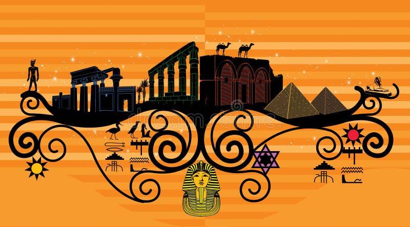País abstracto, simbolismo del país imagen de archivo libre de regalías