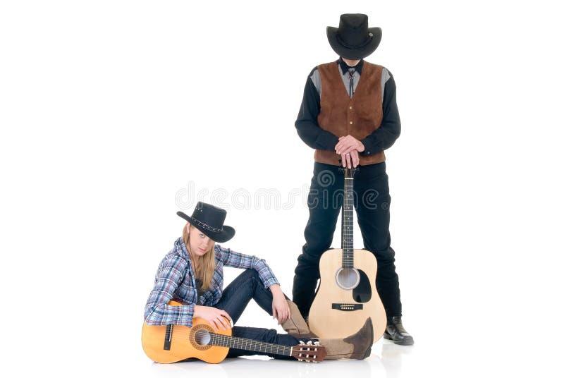 País & cantores ocidentais imagem de stock
